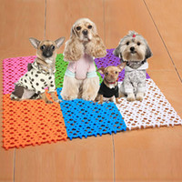 Wholesale Cool Dog Mesh Cat Mat Bed Non Toxic Pet Cooling Pad Cushion K5BO