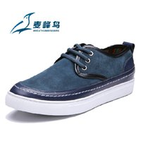 Wholesale fashion quality cowhide genuine leather shoe sneaker for men big size US from manufacturer