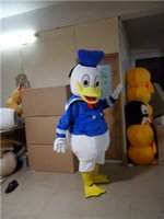Wholesale Popular Cartoon Donald Duck Mascot Costume With Cheap Price Custom Donald Duck