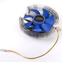Wholesale fanless deep cooler cpu cooler pin heatpipe cpu fan cooler cooling cpu for Intel LGA775 LGA AMD754 AM2 AM3