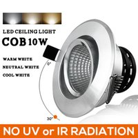 aluminum clad window - 2015 Rushed Downlight Ceiling Lamp New Led Cob Ceiling Concealed Living Room Spotlights Embedded Tv Wall Lights Track Clothing Store Window