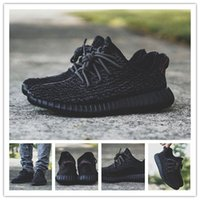 Wholesale Drop Shipping Kanye West Yeezy Boost Low Men s Sports Running Shoes Pirate Black Pirate Black Pirate Black AQ2659