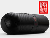 beats pill - Super bass Beats Pill mini speakers Black stereo audio NFC wireless bluetooth speaker Free DHL
