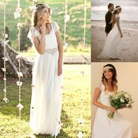 Cheap A-Line wedding dresses Best Real Photos Bateau garden wedding dress
