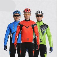 base layer clothing - Thermal Fleece Quick dry Base Layer Under Wear Cycling Bike Long Sleeve Jersey Tight Winter Sports Clothes Long Sleeve Bike Sportswear