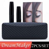 eyelash fiber mascara - 2015 set D moodstruck FIBER LASHES MASCARA Set Makeup lash eyelash waterproof NO LOGO DHL free ship from bond50 MIC