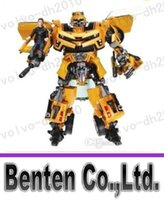 Wholesale llfa485 Transformation Robot Bumblebee and Sam Action Figures Toys for classic toys cartoon boy toy without original box