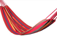 Wholesale Larger Portable Sleeping Hammock Kg Load bearing High quality Camping Picnic Rainbow Color hammock Outdoor Indoor Entertainment