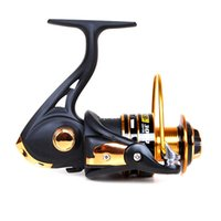 Cheap 11+1 BB Ball Bearings Left Right Handle Fishing Reel for Feeder Fishing Bamboo Handle Coil Carp Spinning Catking Reel Pesca 2000