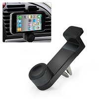 Wholesale Portable Adjustable Car Air Vent Mount Holder Stand For Mobile Cell Phone with package