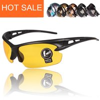 bicycle lots - Hot sale Fashion Mens Driving Mirror Night Glasses Cycling Bike Bicycle Outdoor Sport Sunglasses Eyewear