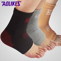 Wholesale Hot Elastic Compression Ankle Sleeve Ankle Brace Support Anklets Sport Protection For Basketball Ankle Guard ZB HBK088