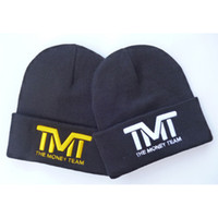 Wholesale hot Fashion Ski Beanies Camp hat D logo TMT the money team beanies hats men women s sports skullies beanie caps