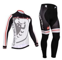 Wholesale 2015 new long sleeve cycling suit long sleeved