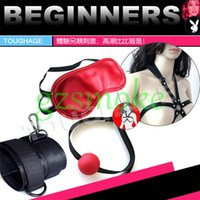 Cheap Outlet Value Package Sex toys flirting Adult games Sex furniture feather Small whip Cotton rope Eye mask Bondage Tied Handcuffs plush