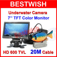 Video Camera underwater fishing camera - HD SONY CCD TVL quot TFT Color LCD Underwater Camera With M Cable Fishing Camera CCTV Camera Video Camera With Standard Set