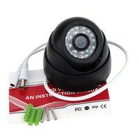 Wholesale PAL TVL Indoor LEDS Wide Angle IR Color CCTV Camera Home Security Surveillance Camera Dome Camera
