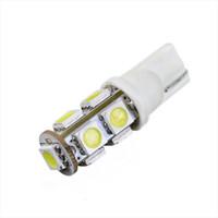 Wholesale T10 W LED Car Light x SMD LEDs Car Width Light Reading Light LED Lamp DC V in Warm Cool White Energy saving Lamp free