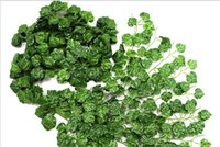 Wholesale high quality artificial flower Grape leaf decoration m