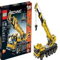 lego technic - Lego machine group MK II mobile crane assembling toy building blocks LEGO TECHNIC