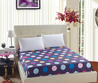 Wholesale New Lovely Bed Sheets Polyester Fashion Style for Adults Children Mattress Cover Endless Flower Printing Home Textiles
