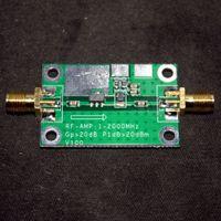 amplifier broadband - MHz Ghz gain dB Low Noise LNA RF Broadband Amplifier Module HF VHF UHF
