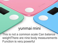 bathroom test - Smart weighing scale digital scale Body fat scale health scale support Android4 IOS7 Bluetooth Original yunmai
