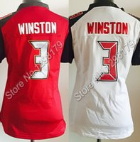 sports jerseys - Factory Outlet Women Jameis Winston Jersey Football Game Limited Jerseys Sports Stitched Red and White Lady Size S XXL Store No