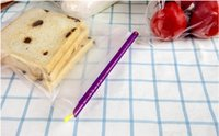 Wholesale 200sets New Magic Bag Sealer Stick Unique Sealing Rods Great Helper For Food Storage Sealing cllip sealing clamp clip By DHL Free
