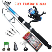 Wholesale explosion of meters sea rod full set glass steel rod package long shot rod fishing rod