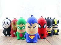 battery powered iron - Portable D cartoon mah power bank Star Wars Yellow Minion spider man Iron man avengers External Battery power supply for mobile phone