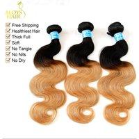 Cheap ombre peruvian hair weave Best peruvian hair bundles