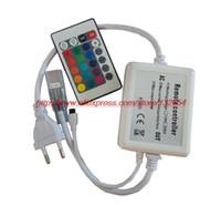 ac controller circuit - W High voltage RGB LED Controller AC110V V Circuits A Key IR Remote wireless