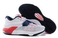 Low Cut Men Rubber New Kevin Durant Vii KD 7 Mens Basketball Shoes Size 7-12 Free Shipping