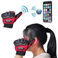 Wholesale Smart Gloves Bluetooth Gloves Full Finger Cycling Gloves Novelty Sports Gloves Voice Call Phone Gloves Buit In Speaker