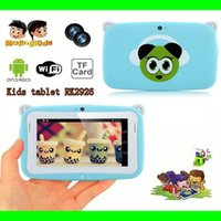 Wholesale 4 inch Android OS Kids Tablet PC for Children with Wifi Dual Camera RK2926 CPU RAM GB ROM tablet pc for Kids Gift