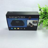 Wholesale MOQ50pcs KODI MX III Amlogic S802 Android TV Box Quad CoreAndroid Kitkat K HDMI G G Set Top Box DHL Free
