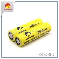 Wholesale Mainifire A high drain battery imr18650 mah v rechargeable lithium ion batteries for electronic cigarette
