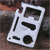 Cheap Multi Tools Emergency Outdoor Multi Tool Best Sliver 10pcs/pack Survival