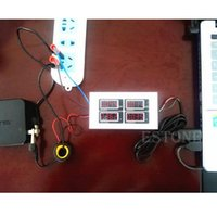 Wholesale AC V V Digital A watt power meter volt amp Ammeter Voltmeter V order lt no track