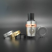 Cheap Hot Selling Lethal RDA Atomizer Clone 4 Rings Set Airflow Control vs Lancia Mephisto Dark Horse fit All 18650 Mechanical Mod