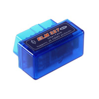 Wholesale FG1511 Mini ELM327 V1 OBD2 II Bluetooth Diagnostic Car Auto Interface Scanner works on Android Windows Symbian