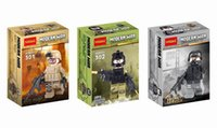 Wholesale counterterrorism military man SWAT soldiers Building Sets toys Children Assembled puzzle toy building blocks role