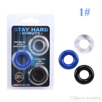 Wholesale 100 Silicone Time Delay Penis Rings Cock Rings Male Lock ring Sex Toys Adult Products for Men
