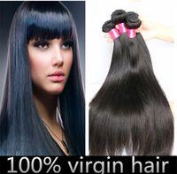 brazilian hair bundle jet black - Jet Black Hair Brazilian Virgin Hair Straight Unprocessed Hair Bundles A Virgin Brazilian Straight Hair Weave Bundle Deals