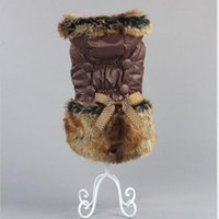 big name clothing brands - NEW Brand Name Pet Puppy Hoodie Coat Winter Warm Sweat shirt Big Dog Clothes Brown XS L