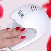 Wholesale 1pcs small mini battery nail art dryers professional portable for toes fingernail polish dryer nail dryers nail tools
