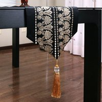 pao de un moderno estilo chino de gama alta banderas de mesa hilado camino de mesa manteles bordados caf comedor elegante mesa