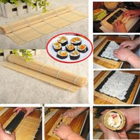 asia foods - Brand New Bamboo SUSHI Mat Makisu Roll Asia Chinese Japanese Food Kitchen Hand Rolling quot FG08130