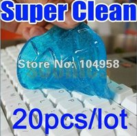Wholesale New Magic Dust Cleaning Compound Super Clean Slimy Gel Wiper For Keyboard Laptop order lt no track